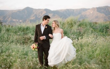 Soft, Rustic Romance: A Springtime Inspiration Shoot On Film