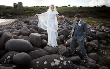 Vintage Chic Wedding In Ireland With A 1930s Style Bride 2