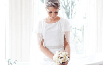 Vintage Chic Wedding In Ireland With A 1930s Style Bride