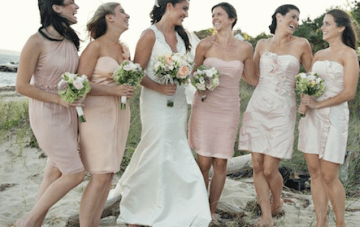 Romantic, Pastel Hued, Beach Chic Wedding In Cape Cod Part 2