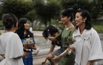 Unique, Edgy Wedding Film by Benjamin V. Ho