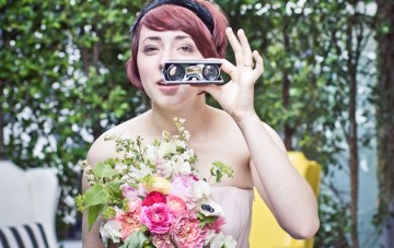 Quirky & Colourful Retro Wedding Inspiration