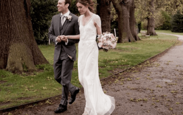 Elegant, Romantic, Rose Filled English Wedding