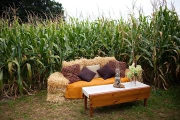 Unique DIY Cornfield Farm Wedding | Mary Dougherty Photography (66)