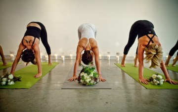 Unique, Yoga Zen Bridal Shoot & Bachelorette Party Ideas
