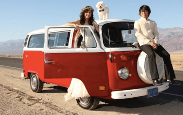 Epic Death Valley Campervan Wedding Film