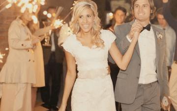 Romantic Utah Wedding: Vintage Lace & Pastel Florals Part 2