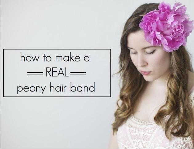 head bandflowers head band