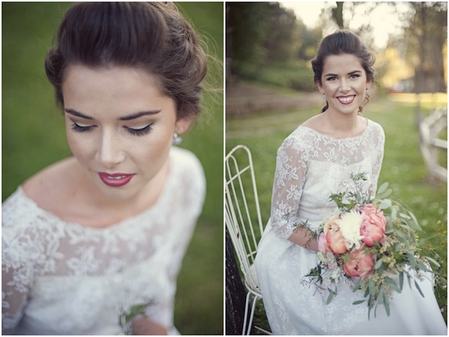 Vintage Wedding Dress & Floral Accessory Inspiration