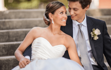 Chic, Classic, Timeless Wedding: Satin & Sparkle