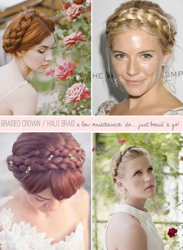 Fabulous Braided Crown Halo Braid Tutorials For Brides Schematic Wiring Diagrams Phreekkolirunnerswayorg
