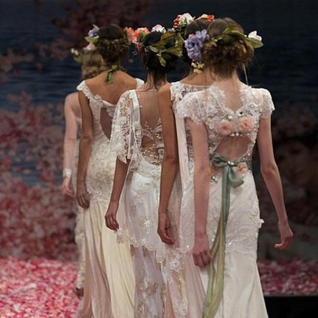 Claire Pettibone Wedding Dress Collection Fall 2013