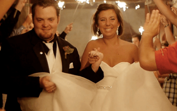 Beautiful, Rainy Texas Wedding Film By Copper Penny Films