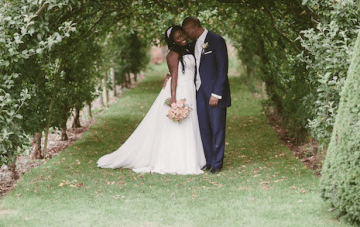 Unique Pink & Blue British, African & Caribbean Wedding (2)