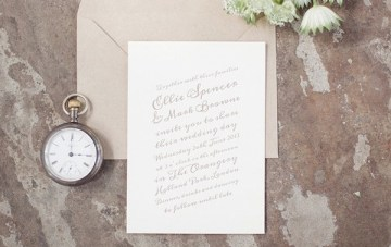 Artcadia – Chic and Creative Letterpress Wedding Stationery