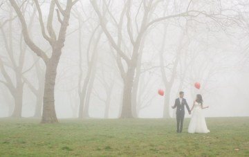 Into The Mist: An Enchanting Post Wedding Shoot