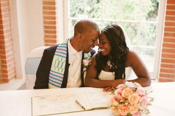 african caribbean bride and groom | my love story photography