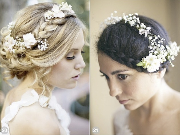 61 Braided Wedding Hairstyles: 50 Romantic Wedding Hairstyles Using Flowers