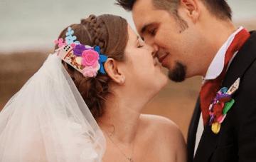A Unique & Colourful, Carnival Themed Wedding In Brighton