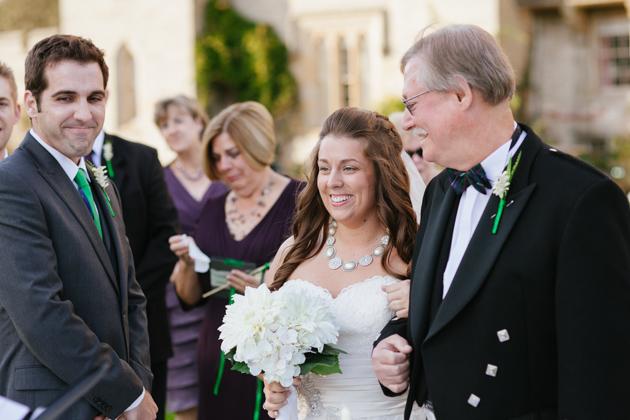 Intimate, Destination Wedding In A Scottish Castle