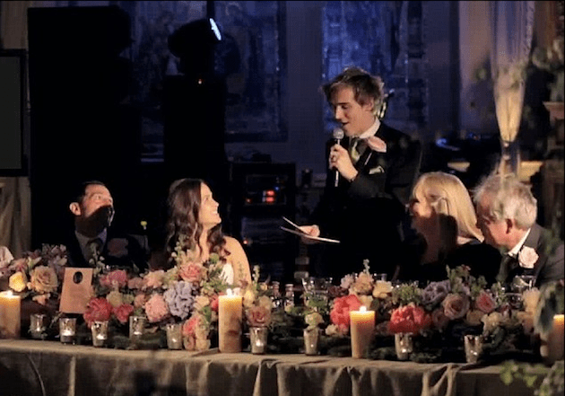 mcfly songs in tom fletchers wedding speech