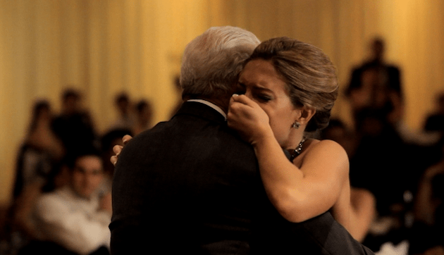 A Moving Father Daughter Dance To Butterfly Kisses