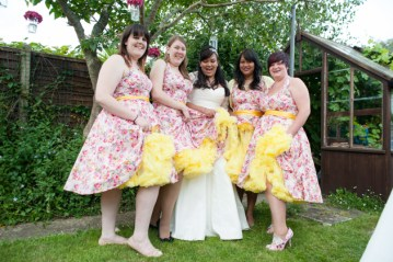 Quirky and Colourful 1950s Garden Wedding   FO Photography (9)