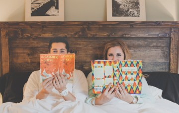 Creative Crafty Portland Engagement Shoot At Home | Hazelwood Photo 21