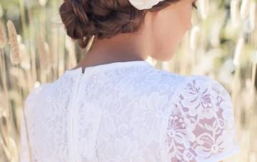CHARLOTTE bridal hair flower
