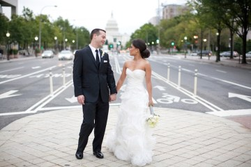 Modern Grey and Orange Wedding | Kate Triano Photography 29