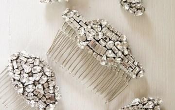 Percy Handmade bridal hair clips