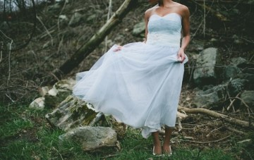 Cinderella Wedding Inspiration Shoot In The Woods