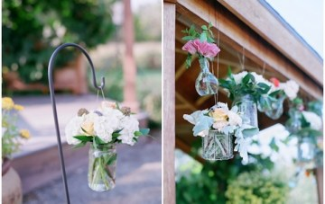 Pastel Rustic Chic Wedding   Laura Murray Photography   Bare Root Flora 3