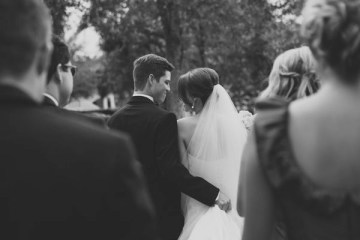 bride and groom, wedding ceremony | Callahan Photo