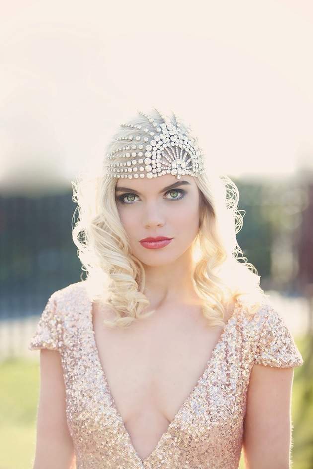 Art Deco Old Hollywood Glamour Bridal Accessories By Gibson Bespoke