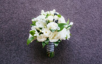 Chic Black and White Wedding in Sydney   Origami Creatives 2