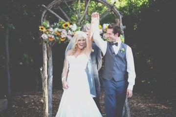 DIY Rustic Sunflower Wedding | Teale Photography 16