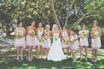 DIY Rustic Sunflower Wedding | Teale Photography 7