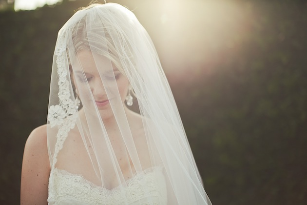Turtle Neck Wedding Gowns: Classic & Romantic Navy Wedding
