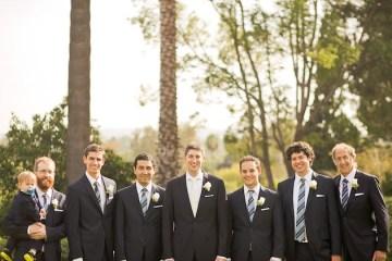 Elegant Navy Wedding | Orange Turtle Photography 6