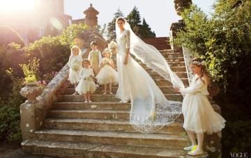 Traditional English Countryside Wedding Inspiration Board