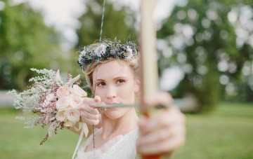 Enchanting Robin Hood Inspired Woodsy Wedding Inspiration