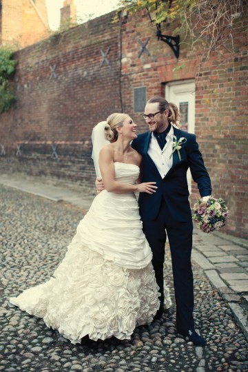 Winter Wedding At The George Hotel in Rye | Dottie Photography 25