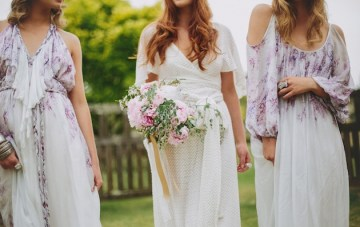 Bohemian Bridal Style From Teeki