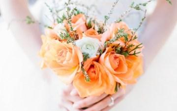 Orange Wedding Inspiration – Lora Grady Photography 22