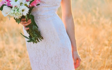 Beautiful 'Before Sunset' Bridal Shoot