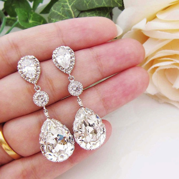 e1a4d3e38 *Giveaway Closed* Win A Pair Of Beautiful Bridal Earrings By Earrings Nation