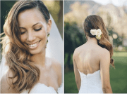 wedding hairstyles side swept