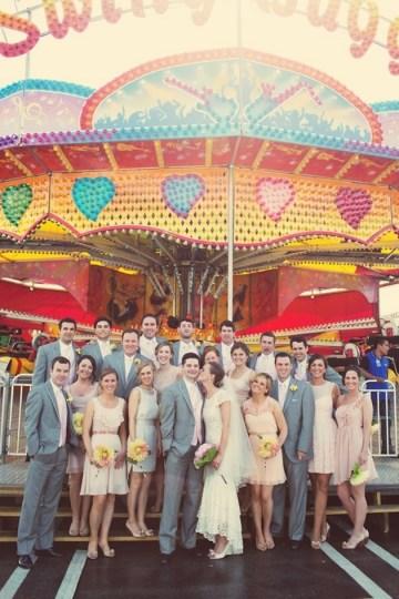 DIY Backyard Wedding | Carnival Wedding | Lauren Fair Photography 39