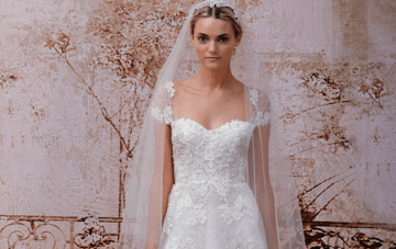 Stunning Monique Lhuillier Wedding Dress Collection FW 2014